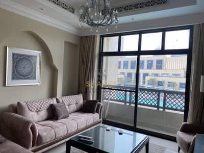 شقة 1 غرفة نوم للايجار في وسط مدينة دبي، دبي - EXLUSIVE LUXURY 1 BED/TERRACE WITH FOUNTAINS
