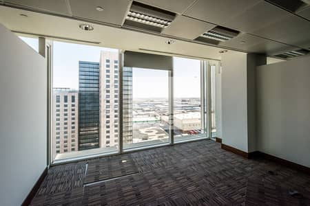 Office for Rent in Downtown Jebel Ali, Dubai - Fitted and Partitioned Office | Chiller Incl