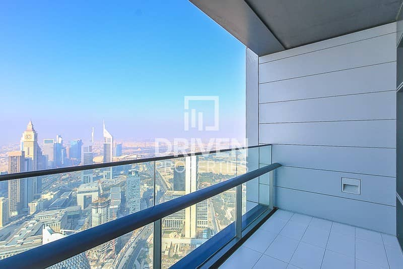2 Corner 3 Bed plus maids room with Burj Views