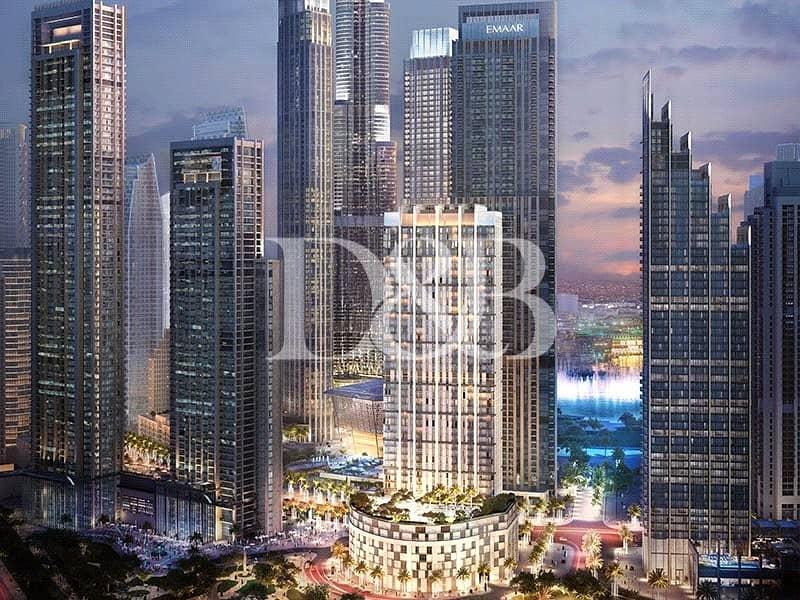 10 Downtown Dubai Living | 50% DLD Waiver