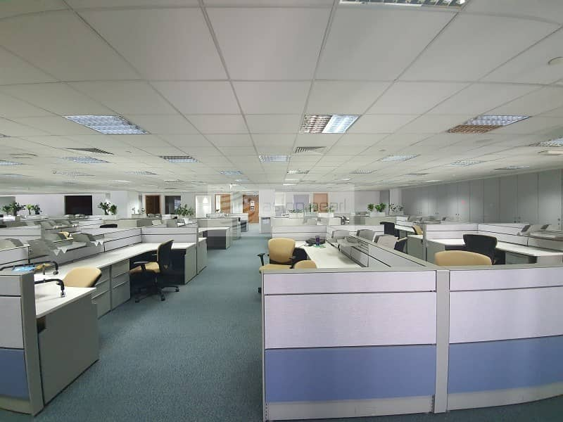 Vacant | Furnished Office| Free AC and Maintenance