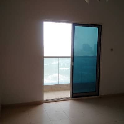 1 Bedroom Apartment for Rent in Marmooka City, Ajman - STYLISH BRAND NEW ONE BHK FOR RENT WITH FREE CHILLER (AC) IN CITY TOWERS ONLY FOR 19000 IN 4 CHEQUE.