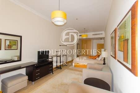 فلیٹ 1 غرفة نوم للايجار في نخلة جميرا، دبي - Huge | Fully furnished |Sea and Burj Al Arab View|