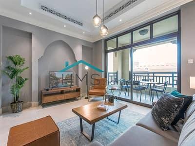 فلیٹ 2 غرفة نوم للايجار في المدينة القديمة، دبي - Bright & Spacious | Fully Furnished | Burj View