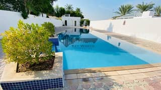 45 DAYS FREE RENT | SPACIOUS 5BR VILLA WITH S. POOL & Tennis court