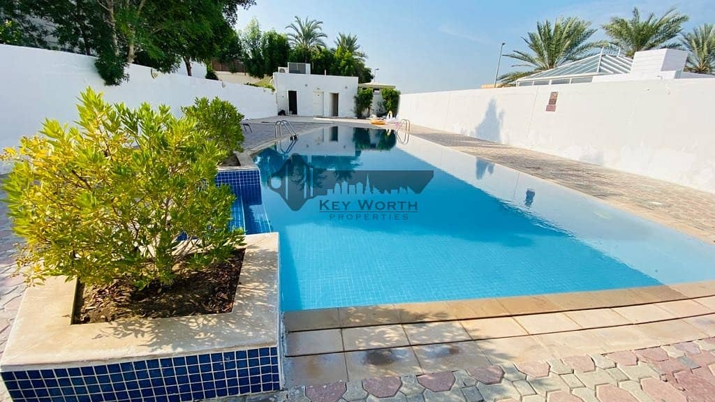 45 DAYS FREE RENT | SPACIOUS 5BR VILLA WITH S.POOL