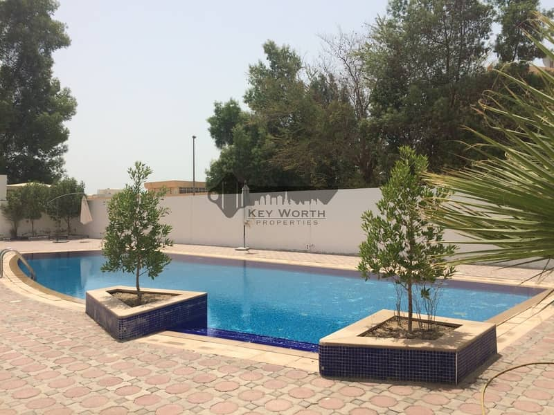 17 45 DAYS FREE RENT | SPACIOUS 5BR VILLA WITH S.POOL