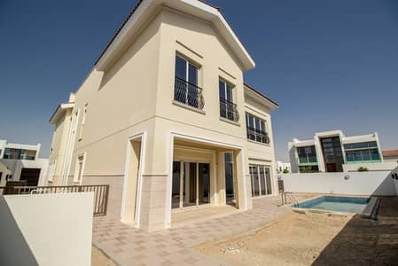 4 Bedroom Villa for Rent in Mohammad Bin Rashid City, Dubai - Fully Landscaped - Luxury 4 BR Mediterranean