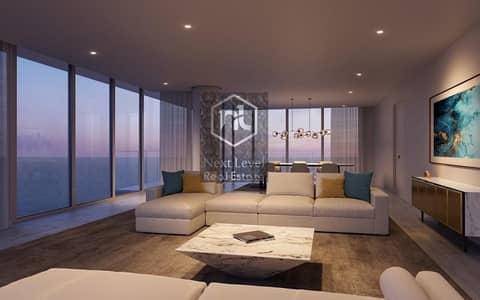 فیلا 2 غرفة نوم للبيع في جزيرة السعديات، أبوظبي - Set on a prime beachfront property on Saadiyat
