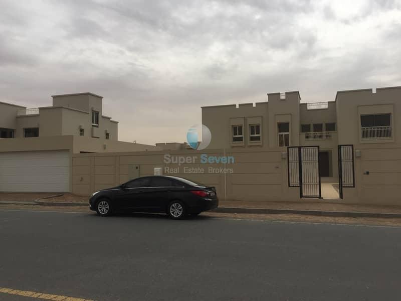 Brand New Five Bedroom Villa for Rent in Al Barashi