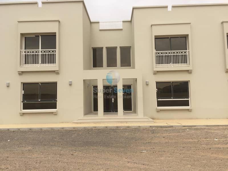 2 Brand New Five Bedroom Villa for Rent in Al Barashi