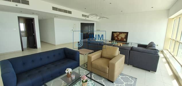 4 Bedroom Flat for Sale in Dubai Marina, Dubai - EXCLUSIVE   100% Full Sea View 4 Beds + Maids