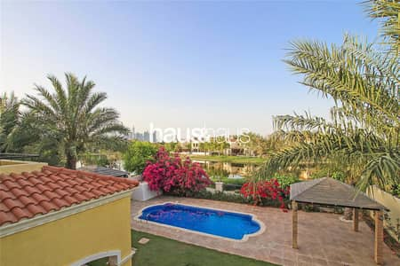4 Bedroom Villa for Sale in Jumeirah Park, Dubai - Full Lake View| Rarely Available| 8