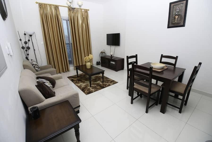 Beautiful Furnished 1 Bedroom