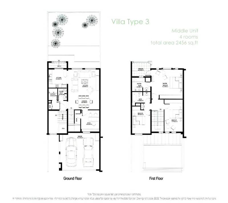 10 Type 3M | Full Lake View | 3 Bed | Study