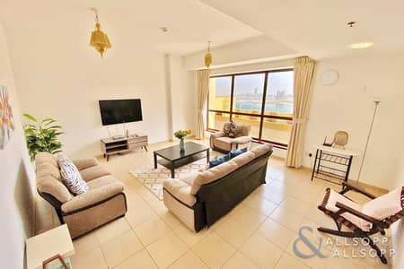 2 Bedroom Flat for Sale in Jumeirah Beach Residence (JBR), Dubai - Exclusive | Vacant | Sea Views | Furnished