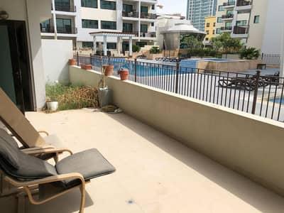 فلیٹ 2 غرفة نوم للايجار في قرية جميرا الدائرية، دبي - شقة في لا ريفييرا ايستيتس قرية جميرا الدائرية 2 غرف 75000 درهم - 4584597