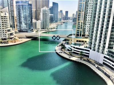 2 Bedroom Flat for Rent in Dubai Marina, Dubai - Managed I Stunning Marina View 2BR | Fairfield