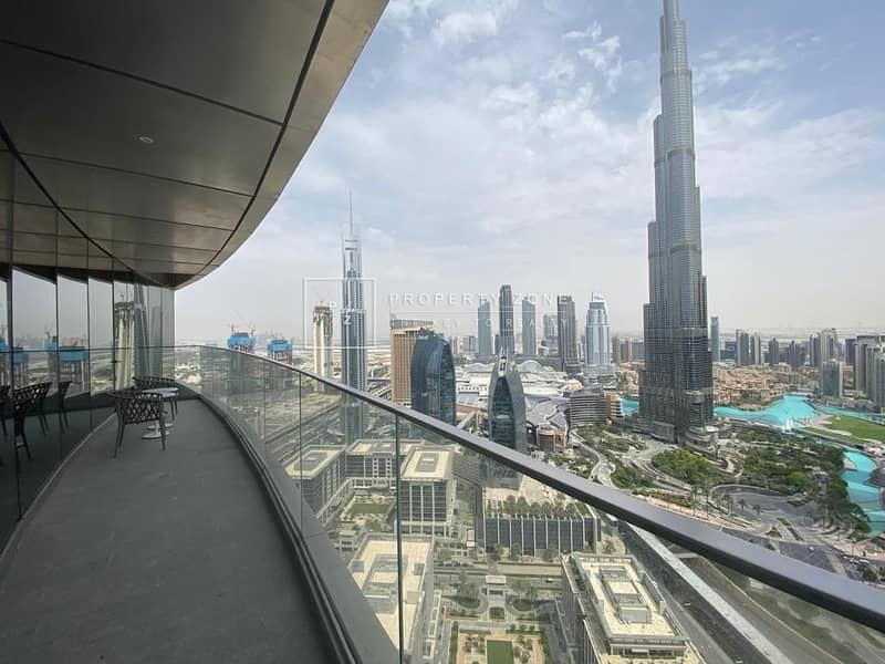 2 Luxurious Living I Facing Burj Khalifa View I Fully Serviced Apartment