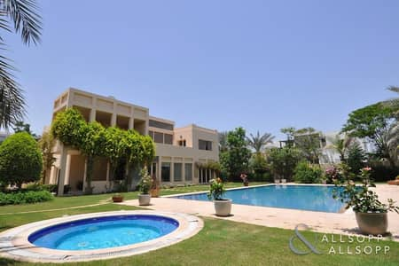 فیلا 5 غرف نوم للايجار في تلال الإمارات، دبي - 5 Bed | Private Pool | Fantastic Lake View