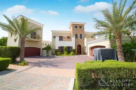 فیلا 6 غرف نوم للبيع في عقارات جميرا للجولف، دبي - New Listing | Modified Valencia with Annexe