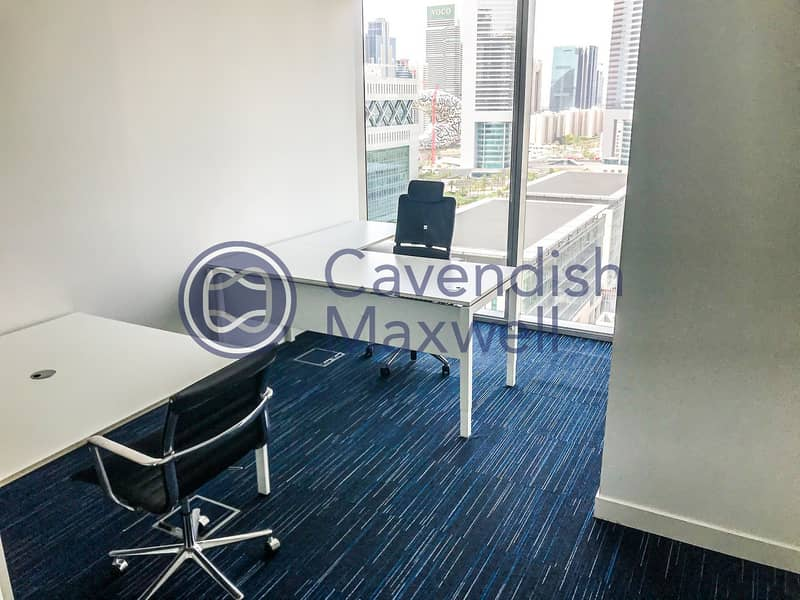 21 Fully Fitted Modern Office | Close to Metro