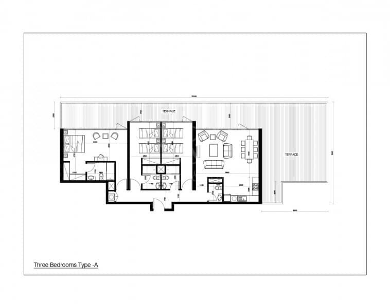18 SPACIOUS 3 BED WITH TERRACE DIRECT FROM DEVELOPER*