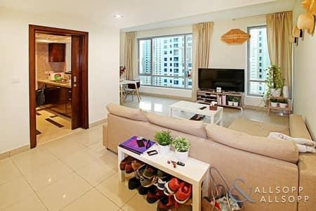 شقة 1 غرفة نوم للايجار في دبي مارينا، دبي - One Bedroom| Mid Floor | Available Now