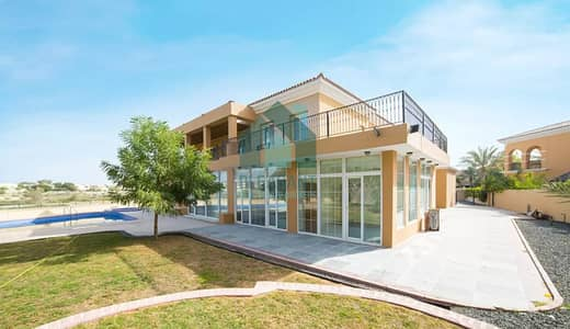 6 Bedroom Villa for Rent in Arabian Ranches, Dubai - Full Golf Course Villa In Arabian Ranches With Pvt Pool