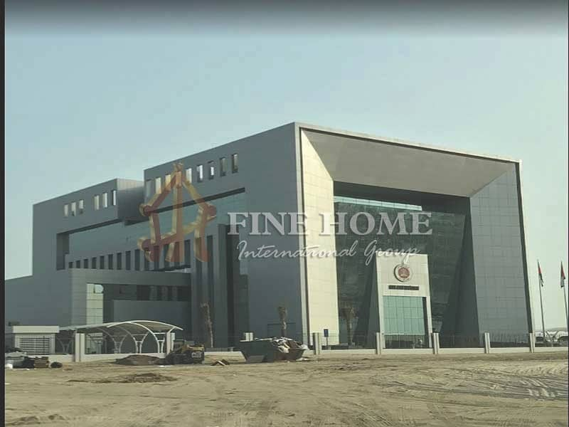 2 Nice Corner Commercial land in Zayed City CD