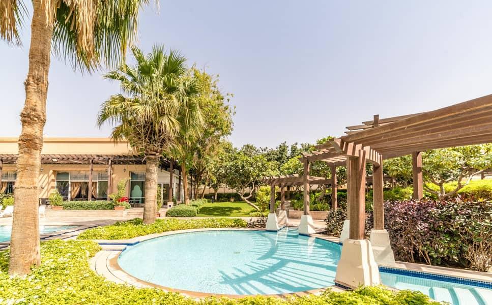 فیلا في فلل السمر واحة دبي للسيليكون 4 غرف 135000 درهم - 4586192