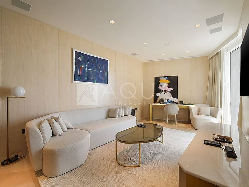 Fully Furnished Unit | High floor Sea view