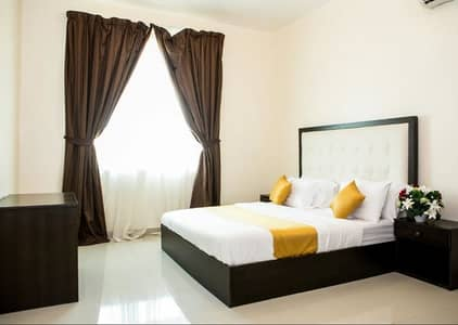 1 Bedroom Apartment for Rent in Khalifa City A, Abu Dhabi - 1 BR Apartment - Monthly Short term rent