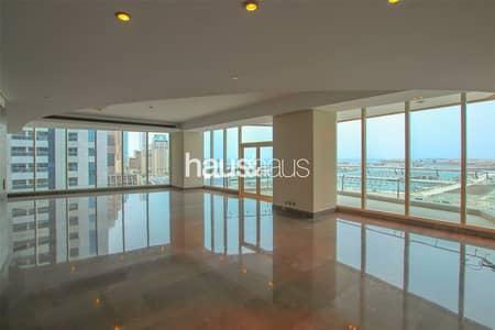 بنتهاوس 4 غرف نوم للايجار في دبي مارينا، دبي - Upgraded - Half Floor - Unique Building