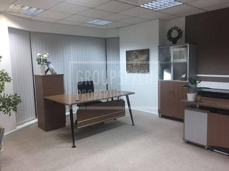 2 Office for rent Fairmont Hotel Fitted