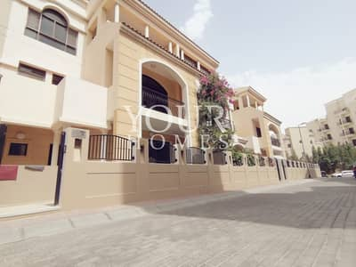 4 Bedroom Townhouse for Rent in Jumeirah Village Circle (JVC), Dubai - SB | Spacious and bright TH Beautifully maintained