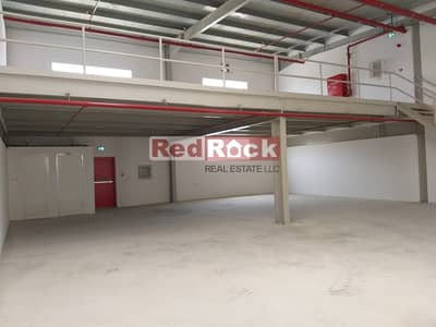 Road Facing 3000 Sqft Warehouse With Mezzanine in Al Qusais