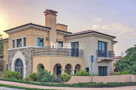 3 Bedroom Villa for Rent in Jumeirah Golf Estate, Dubai - Firestone | Vacant | Kidney Shape Pool