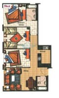 12 Amazing 3 Bedroom for Sale in Armada Tower 1 with  Skyline Marina View
