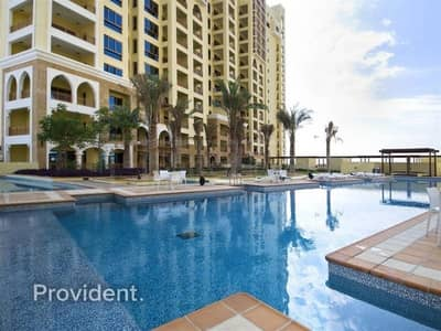 2 Bedroom Flat for Sale in Palm Jumeirah, Dubai - Extended Terrace | Sea & Pool Facing | C Type