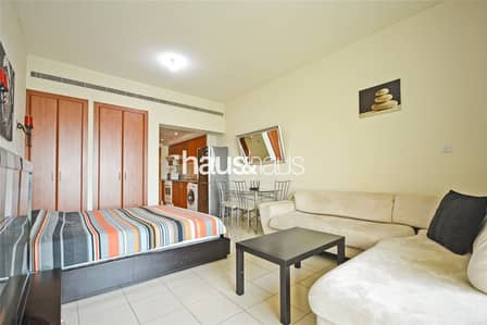 Studio for Rent in The Greens, Dubai - Fully Furnished | Chiller Free | Well Maintained