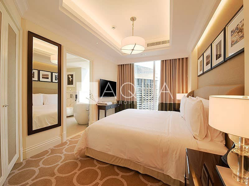 10 Fully Furnished | High Floor | DIFC View