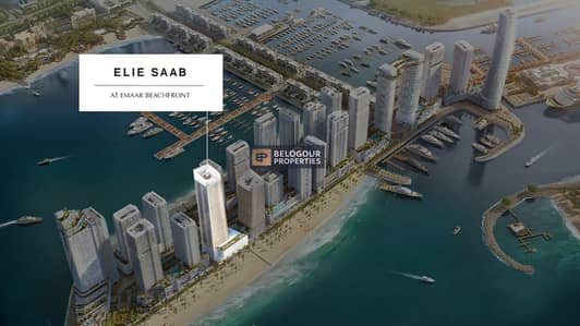 1 Bedroom Flat for Sale in Dubai Harbour, Dubai - Palm Jumeriah View I Beach Living I luxurious