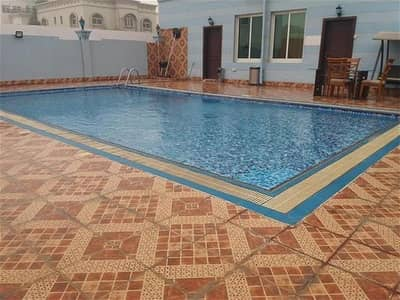 1 Bedroom Flat for Rent in Mohammed Bin Zayed City, Abu Dhabi - FANTASTIC 1BHK WITH 2 BALCONY SWIMMING POOL/INTERNET/DISH/INCLUDE IN RENT AT MBZ CITY