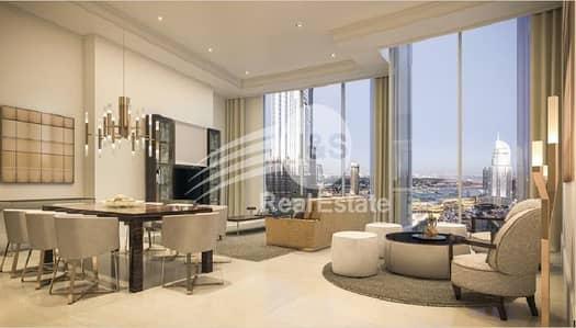 فلیٹ 1 غرفة نوم للبيع في وسط مدينة دبي، دبي - Elegant 1 Bed   Stunning Views   Stay Home Stay Safe