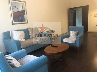 1 Bedroom Flat for Rent in Tourist Club Area (TCA), Abu Dhabi - AMAZINGLY FURNISHED 1 BEDROOM APARTMENT