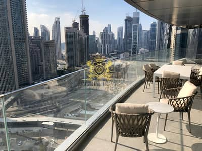 3 Bedroom Apartment for Rent in Downtown Dubai, Dubai - Burj View I Brand new 3 BR + maids I Fully furnished