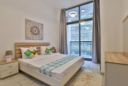 1 Bedroom Flat for Rent in Al Furjan, Dubai - Furnished 1 BR | Monthly 6000 only | Free Wifi &Dewa| No Comm