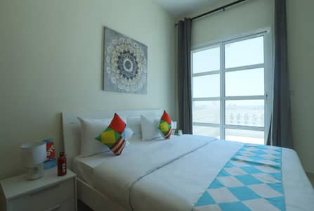 1 Bedroom Flat for Rent in Dubai Production City (IMPZ), Dubai - Furnished 1Br | Monthly 4300 only |Free Dewa &Wifi |No comm