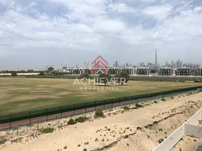 6 Bedroom Villa for Sale in Meydan City, Dubai - Single Row on the Park with Burj Khalifa View